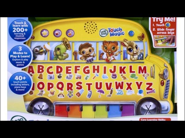 Kidtoy • Автобус - обучение английского языка. LeapFrog Touch Magic School Bus