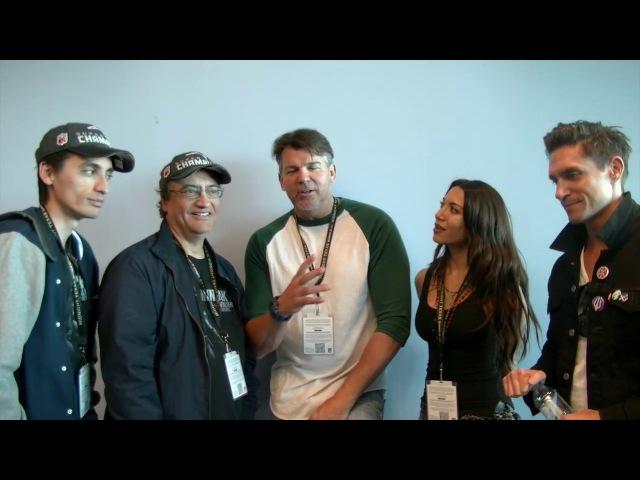 Ninjak Vs The Valiant Universe Cast Crew Interview EXCLUSIVE