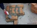 Кирпичная кладка угла в 1 5 кирпича Однорядная система перевязки © masterkladki rbhgbxyfz rkflrf eukf d 1 5 rbhgbxf jlyj