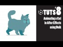 TnT Tuts - #8 - Animating a Cat in After Effects using Duik