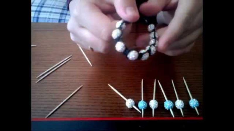 Tutorial: how to make shamballa beads(polymer clay) / как сделать бусины шамбала (полимерная глина)