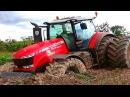 ✅Трактор застрял в грязи Новая Большая Подборка Тракторы на Бездорожье Tractor off-ro...