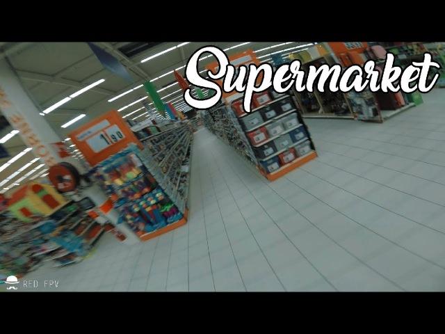 JE NAI JAMAIS FAIT LES COURSES AUSSI VITE DANS UN SUPERMARCHE