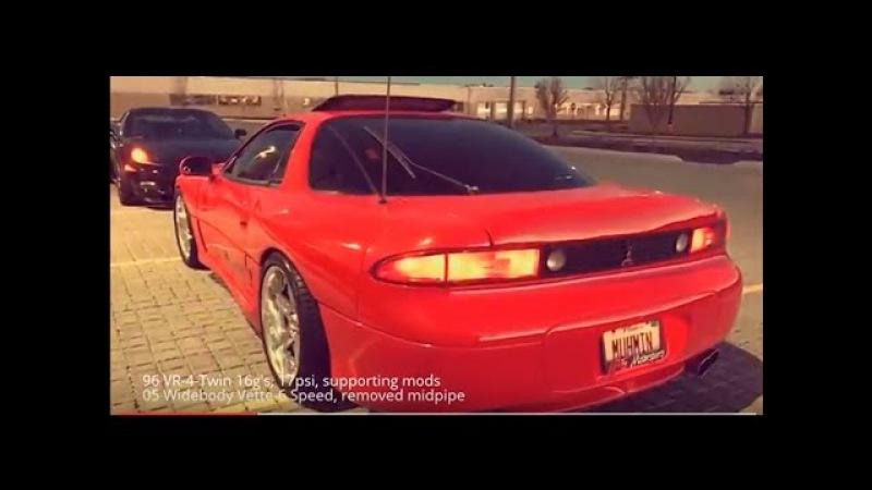 3000GT VR-4 vs. Corvette