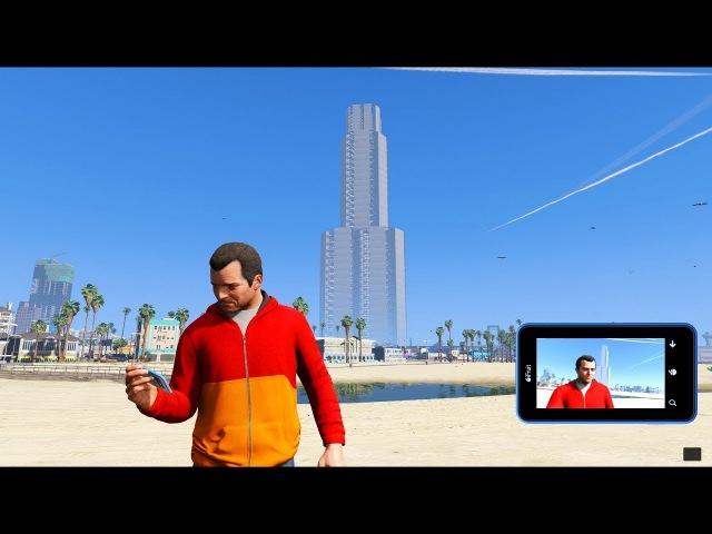GTA 5 mod Mega Huge Skyscraper