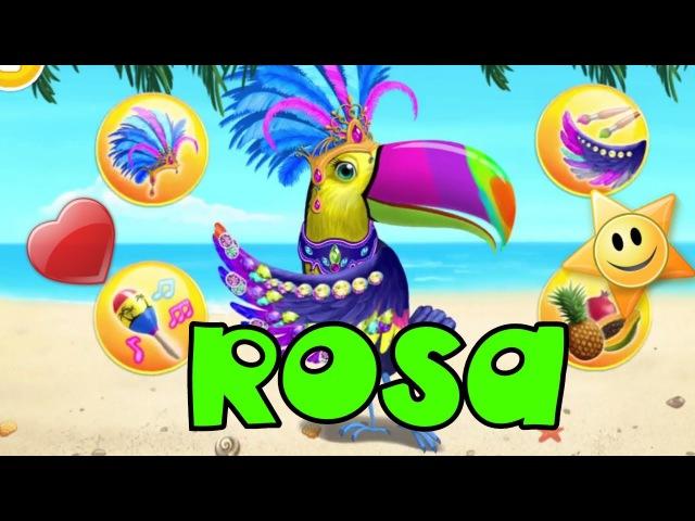Animal Hair Salon Jungle 2: ROSA - Funny game for kids