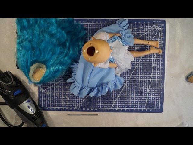 Шарнирная кукла своими руками с нуля часть 12. Предварительная сборка мастер модели.