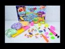 Настольная игра большая 2в1 Цветная рыбалка и кинетический песок KIDSAND 5