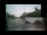 остановка на светофоре ... зеленый
