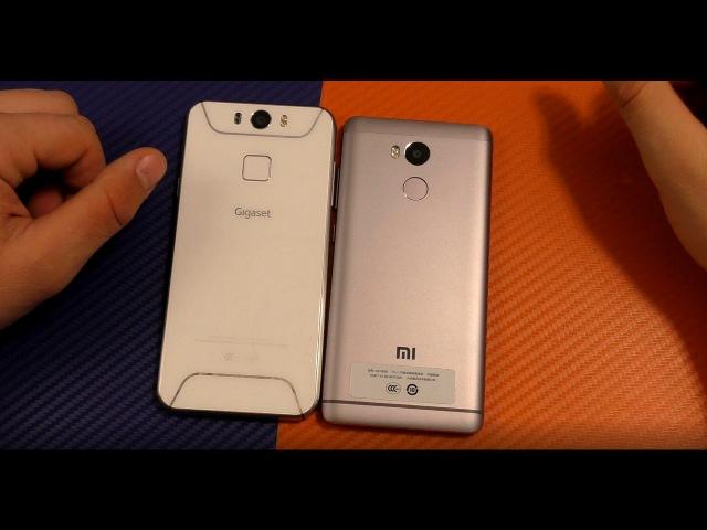 Сравнение убийцы флагманов Gigaset ME и Xiaomi Redmi 4 Prime / Что купить в 2017?