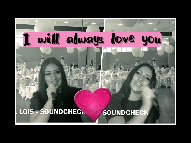 Whitney Houston - I will always love you Julia Lois Юлия Лойс (cover) - Soundcheck