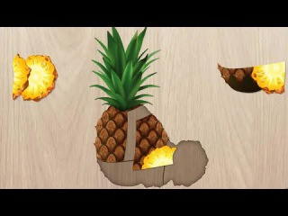Kids Learn Food & Fruit Puzzles Games - Fun Educational Learning Game For Toddlers & Preschoolers