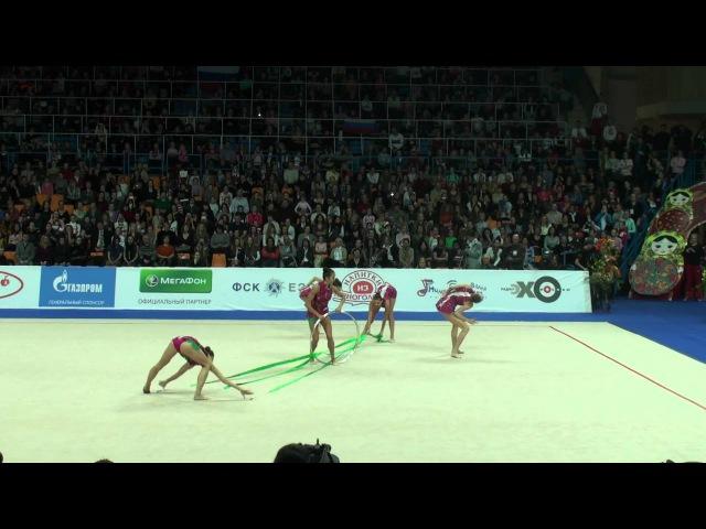 Сборная России. Групповое упражнение, Гран-При 2012