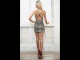 Блестящее платье Aliexpress