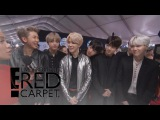 BTS Talks Emojis and More at the 2017 AMAs  E! Live from the Red Carpet