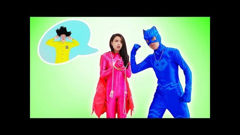 PJ Masks Full Episodes Superheroes Cartoon Disney Junior Funny Baby Nursery Rhyme Songs for Kids
