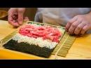 Best Sushi in Japan - Tsukiji Fish Market to $300 HIGH-END SUSHI in Tokyo! | Japanese Food