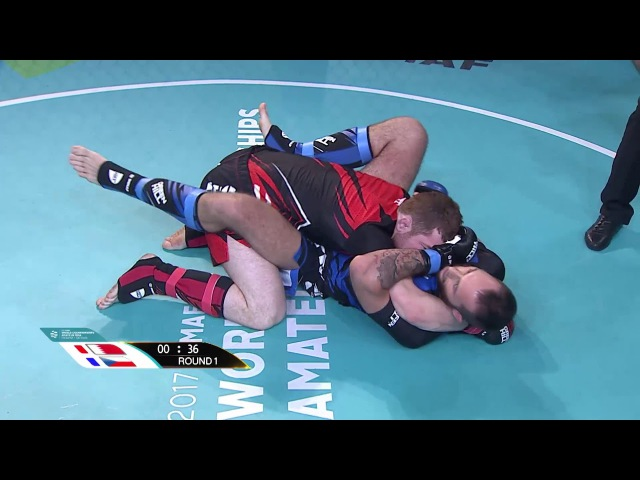 Murtaza Talha Ali (BAH) X Zdenek Holub (CZE) - World championship Amature MMA 14/11/2017