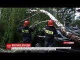 Через зливи та шквальний втер у Польщ повален дерева  знеструмлен будинки