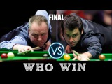 Must see!!! Ronnie O'Sullivan vs. Joe Perry Champion of Champions Snooker 2017