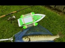 How to catch Pike fish wt RC boat film it underwater. Pesca con barco RC. Рыбалка щука кораблик.