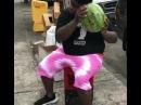 Витас в арбузе Weird Singing Watermelon Smash