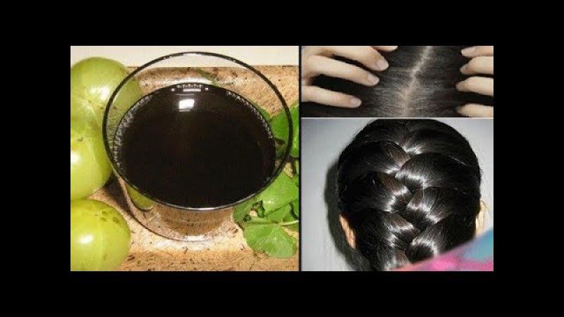 Нет Седине! Эта самодельная Черная Вода избавит вас от седых волос навсегда!