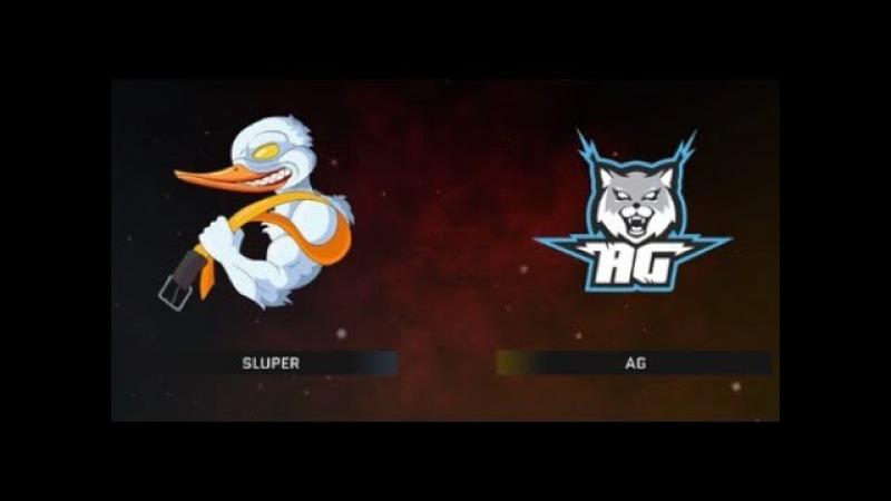 SLUPER vs AG окраина Warface Open Cup Season XII Pro League 9-1