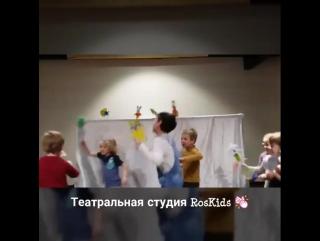 """Мастер-класс """"Кукольный театр"""""""