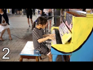 ТОП 5 девушек играющих на пианино