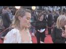 Интервью для «Getty Images» на премьере фильма «Прощай, Кристофер Робин» в Лондоне 20.09.2017