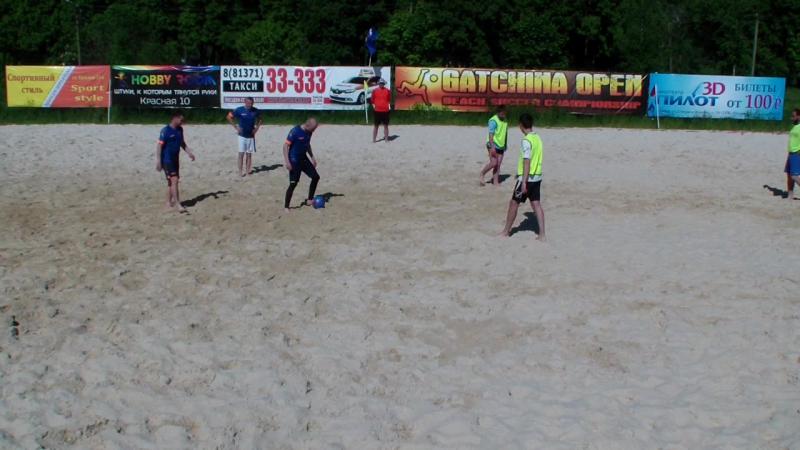 Олимпия - Б.Ижора , 2 тайм, Кубок ЛЛПФ Зона Гатчина 2017