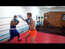 бокс отработка уклона от прямых ударов с ответным ударом