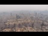 USA : Incendie en Californie, Santa Rosa, la ville transformée en cendres et les thèses conspirationnistes commencent déjà à éme