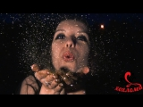 Звёздное шоу, звёздная пыль, портрет блёстками - фрагмент с мероприятия