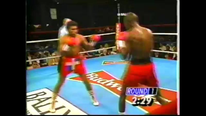 1991-02-24 Akeem Anifowoshe vs Lucilo Nolasco (NABF super flyweight title)