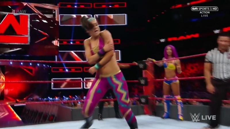 Bayley, Sasha Banks Dana Brooke vs. Charlotte Flair, Nia Jax Emma