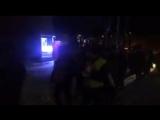Маськовський пархат на вулицях Рівного. Іх супроводжують комунальники і поліція. Перекрито рух. А чого хочуть, не кажуть.