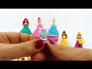 Сюрпризы из пластилина Плей До и много конфет. Игрушки Барби и другие сюрпризы. Игрушки +1