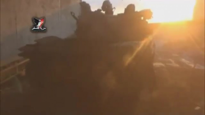 военная техника крыс иг крысы бежали вкс россии и сирийская армия сделали своё дела провинция ракка