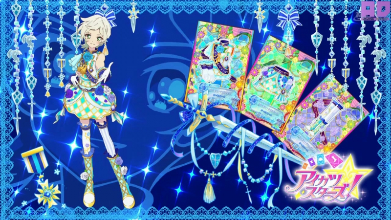 4 Субтитры 80 серия Aikatsu Stars Звёзды Айкацу Amazing Dubbing