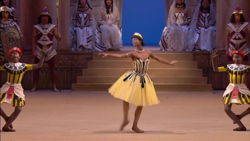 Рамзея Nina Kaptsova as Ramze - La Fille du Pharaon