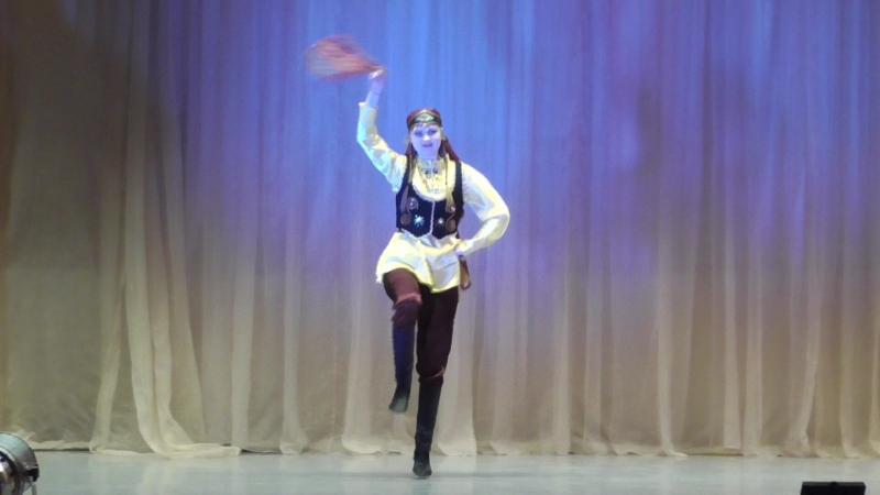 Щербонос Мария, номинация народный танец (дабка). Международный творческо-образовательный фестиваль Русские сезоны