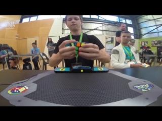 Мировой рекорд по сборке Кубика Рубика