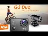 GitUp G3 Duo экшн камера. Комплектация и распаковка