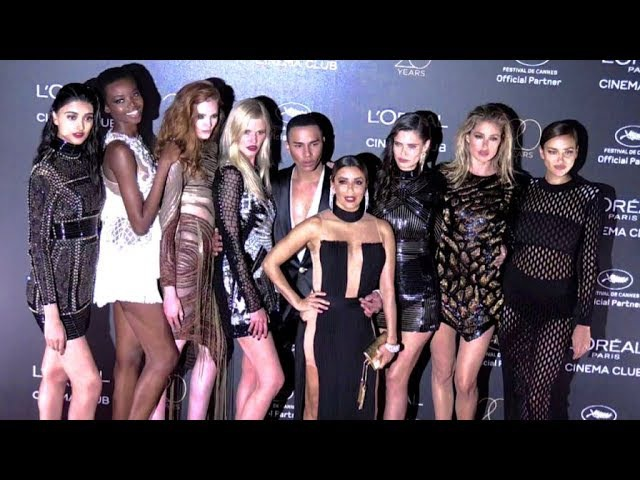 Barbara Palvin Eva Longoria Irina Shayk and L Oreal Paris Celebrates 20 Years of Cinema Beauty i
