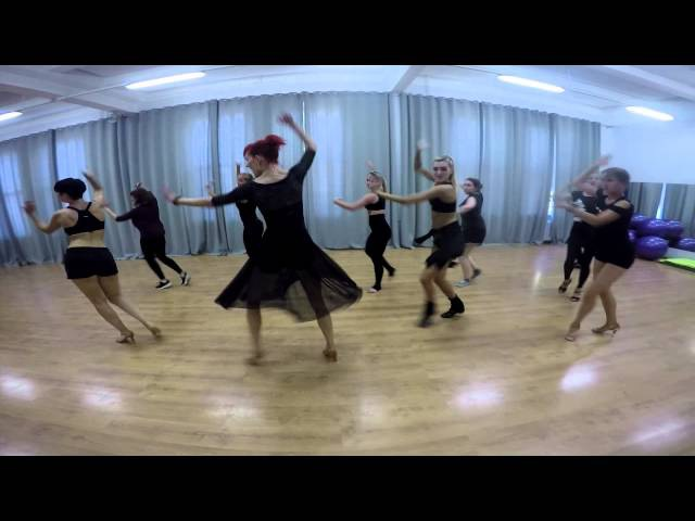 Cuban salsa lady style by Sandra S. (@City Dance)