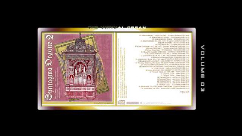 SYNTAGMA ORGANO 02 - Fred G. Pisecki, various organ Sample sets