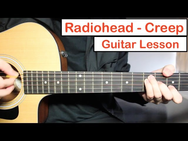 Radiohead - Creep | Guitar Lesson (Tutorial) How to play Chords Lead