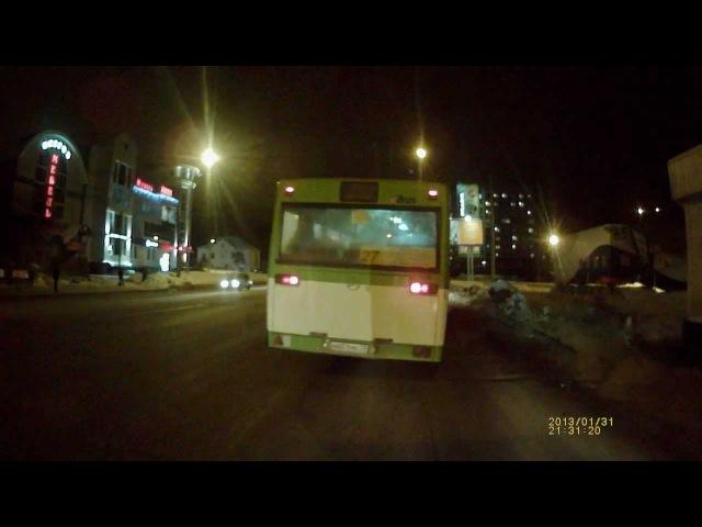 Придурок на автобусе